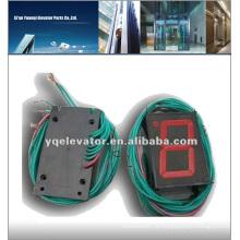 Панель кнопок управления подъемником Hitachi (красный свет)