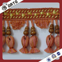 Curtain Tassel and Trims for curtain Tapestry and sofa cushion,Curtain Fringe for Textile Decoration