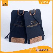 PVC Hangtag etiqueta vestuário LH300x