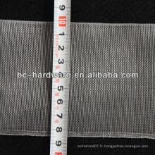 Bande de rideau plat de 85 mm, bande de rideau en nylon