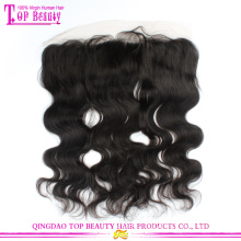 Hot Selling 6a Grade Unprocessed Virgin Indian Human Hair Body Wave Full Lace Closures Lace Frontal Closures