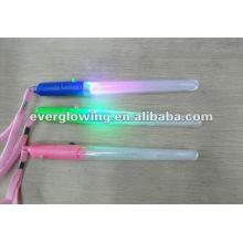 """7"""" Цвет изменение мигающий светодиодный свет строба ручки"""