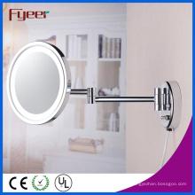 Fyeer Ультра тонкий одиночный боковой стенке зеркало с светом СИД