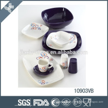 Porcelana de porcelana chinesa elegante por atacado de utensílios de mesa