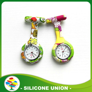 Montre infirmière Silicone OEM