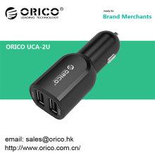 ORICO-2U 5V2.4 A / 5V 1.5A teléfonos usuales universales del cargo de la carga del coche del usb, iphone, ipad