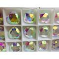 Perles rondes et carrées grandes pierres plates arrière