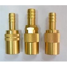 CNC Usinagem de peças em miniatura encaixes de bronze