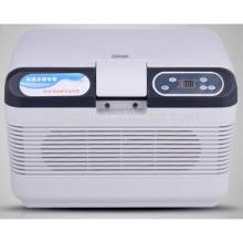 HF-15L DC 12 V / AC 220 V auto kühlschrank auto kühler mini tragbare hause und auto doppel verwenden auto kühlschrank (CE zertifikat)
