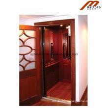 Conveniente Glass Home Elevator con máquina sin cuarto