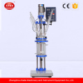 Lab Vacuum Distillation Double Layer Glass Reactor