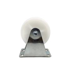 2.5 inch light duty flat plate rigid PP casters
