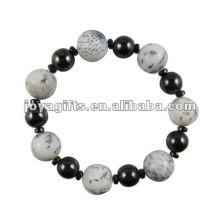 Bracelet en perles à la mode Hematite Howlite