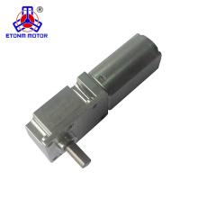 3v 6v 12 v 34mm hohe qualität schneckengetriebe mit DC motor
