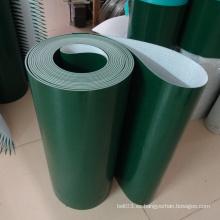 Bandas transportadoras modificadas para requisitos particulares del PVC de ESD para industrial