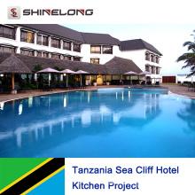 Projet de cuisine de l'hôtel Sea Cliff en Tanzanie
