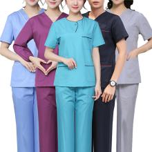 Tops de uniformes de enfermeras de moda baratos para mujeres