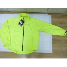 Lime Green Reflective Soft Shell Jacket Waterproof