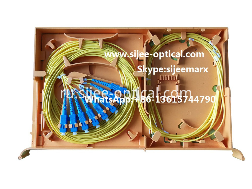 fiber optics splice tray
