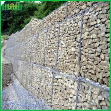 Malla protectora de gaviones de roca galvanizada