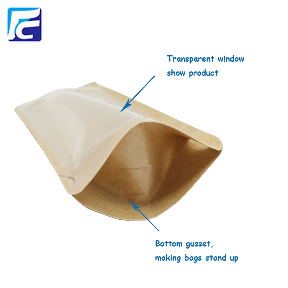 KClear Window Kraft Bag