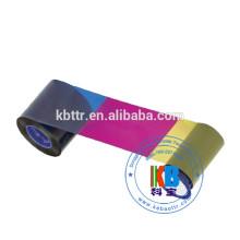 Compatible datacard id card printer sd/sp series ymckt monochrome color ribbon 500 prints 534000-003