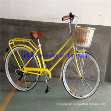 7 Speed Ladies Vintage City Cruiser Retro Hybrid Lady Bicycles