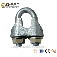 Gréement malléable galvanisée câble pinces DIN1142