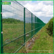 2016 vente chaude haute qualité faite en Chine pvc clôture en treillis en acier