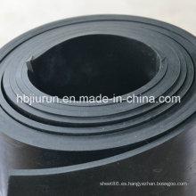 Tapete de goma de neopreno de 4 mm para la industria