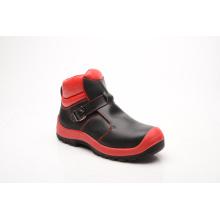 Calçado de segurança novo couro liso brilhante projetado (HQ8002)