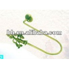 curtain design 2012 antique brass curtain tieback,adhesive metal hook