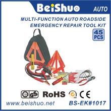 Kit de primeros auxilios para coche en carretera de 14 piezas