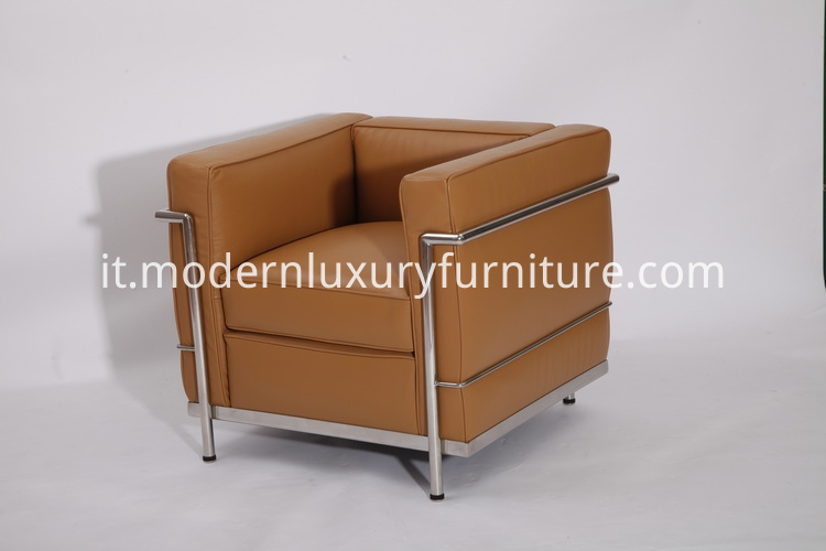 LC2 leather sofa replica