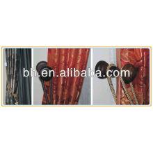 Alfileres de cortina de madera