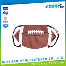 Promotion 100% cheap custom baseball drawstring bags