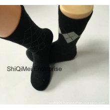 Supplier Customized Men`S Gentleman Business Official Dress Socks