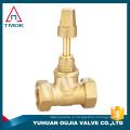 высокая точность специализированная использует латунь воды запорный клапан никель фторопласт одобренный CE полный порт с кованой моторизуйте плакировкой вентиль
