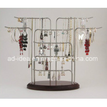 Latest Model Metal Exhibition Stand/ Display for Earring Necklace