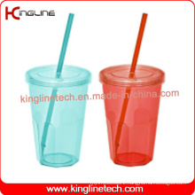 600ml Single Wall Straw Cup (KL-SC097)
