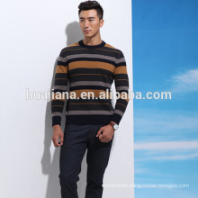 2016 new design men's wool knitting sweater