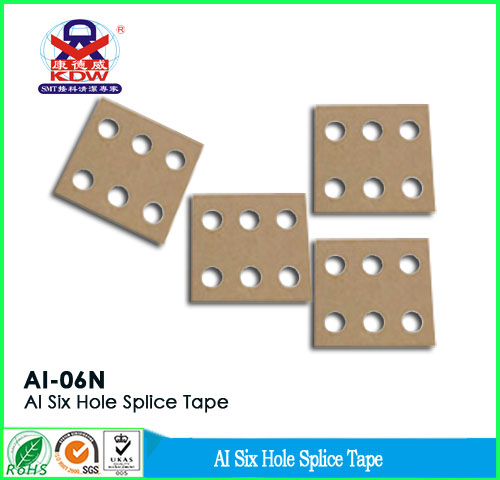 Six hole Splice Tape
