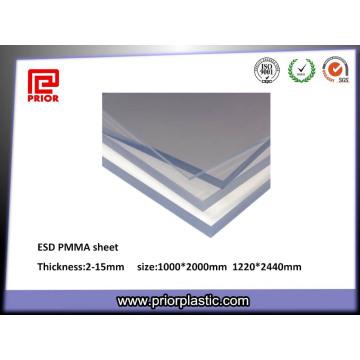 Frühere Plastik-Plexiglas-Platten in klarem