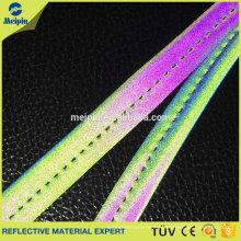 Gute Qualität elastische silberne reflektierende friedliche Beutel der hohen Sicht