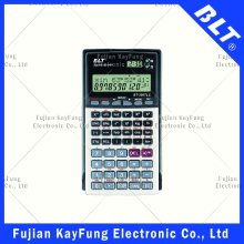 229 Functions 2 Line Display Scientific Calculator with Time Display (BT-350TLC)