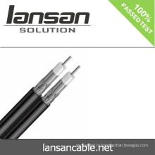 Коаксиальный кабель цена 22Years 'Опыт Высокое качество Дешевле Цена RG59 RG6 RG11 Messenger COAXIAL CABLE