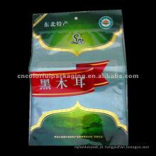 Sacos de embalagem de alimentos de alta barreira de plástico para fungo preto