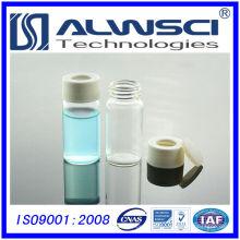 Freie Probe pharmazeutische Glasfläschchen Lagerung Durchstechflasche 20ml mit Plastikkappe