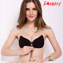 super light invisible cloth bra very sexy push up butterfly bra