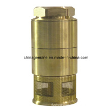 Zcheng Brass Check Valve with Spring Filter Foot Valve Zcfv-01